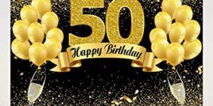 photocall 50 cumpleaños
